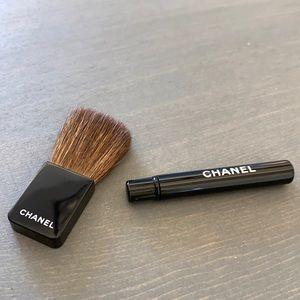 Authentic Chanel mini blush & cream shadow or lip!
